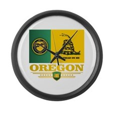 Oregon DTOM Large Wall Clock