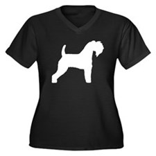kerry blue terrier white.png Plus Size T-Shirt
