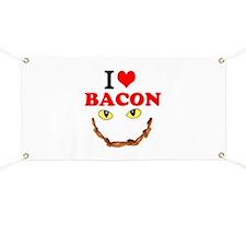 I Love Bacon Banner