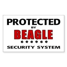 Beagle Security Rectangle Decal