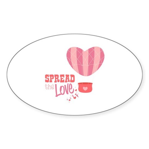 Spread The Love Decal