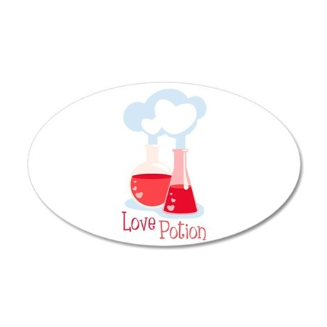 Love Potion Wall Decal