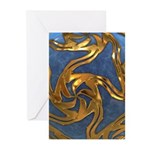 Faberge's Jewels - Blue Greeting Cards (Pk of 20)