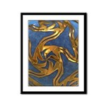 Faberge's Jewels - Blue Framed Panel Print