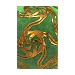 Faberge's Jewels - Green Mini Poster Print