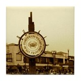 Fisherman's Wharf Tile Coaster