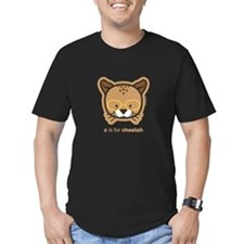 c_cheetah_glasses_dark T-Shirt