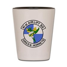 61st Airlift Squadron Shot Glass