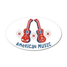 American Music Wall Decal