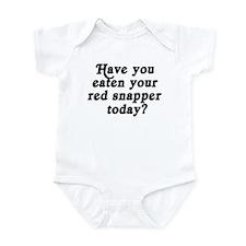 red snapper today Infant Bodysuit