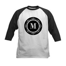 Black | White Scroll Monogram Tee