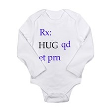 hug.bmp Long Sleeve Infant Bodysuit