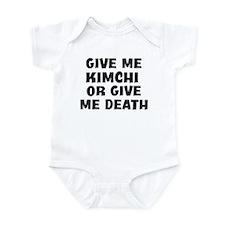 Kimchi today Infant Bodysuit