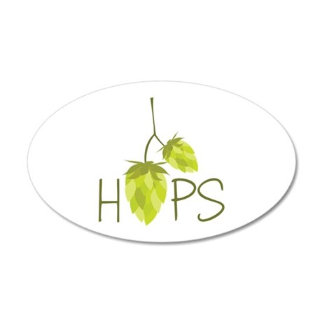 Hops Wall Decal