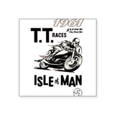 isle of man tt races (1961) Sticker