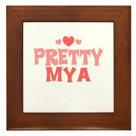 Mya Framed Tile