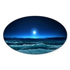 Moonlight Waves Decal
