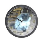 Exotic Persian Cat Wall Clock