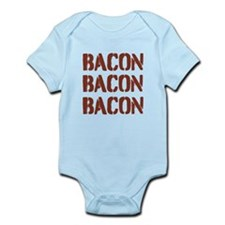 Bacon Bacon Bacon Body Suit