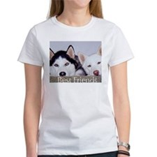 Cute Huskies Tee
