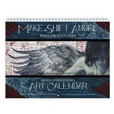 Make-Shift Angel Art Calendar Wall Calendar