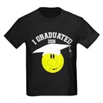 College Grad Personalized Kids Dark T-Shirt