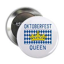 """OKTOBERFEST Queen 2.25"""" Button"""