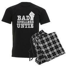 bad spellers untie Pajamas