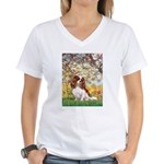Spring & Cavalier Women's V-Neck T-Shirt