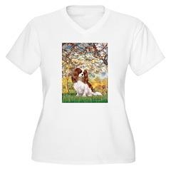 Spring & Cavalier Women's Plus Size V-Neck T-Shirt