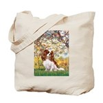 Spring & Cavalier Tote Bag