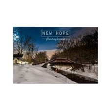 New Hope PA. Rectangle Magnet