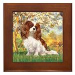 Spring & Cavalier Framed Tile