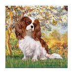 Spring & Cavalier Tile Coaster