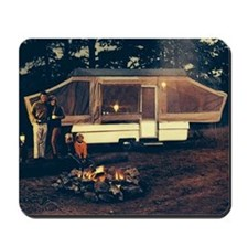 Late 60s Popup Camper Mousepad