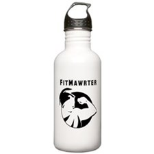 Fitmawrter Text And Stainless Water Bottle 1.0l