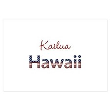 Custom Hawaii 3.5 x 5 Flat Cards