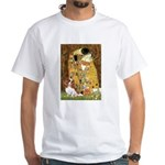 The Kiss & Cavalier White T-Shirt