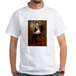 Lincoln's Cavalier White T-Shirt