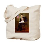 Lincoln's Cavalier Tote Bag