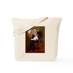 Lincoln's Cavalier Tote Bag
