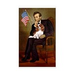 Lincoln's Cavalier Sticker (Rectangle)