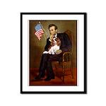 Lincoln's Cavalier Framed Panel Print