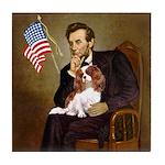 Lincoln's Cavalier Tile Coaster