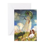 Umbrella / Cavalier Greeting Cards (Pk of 10)