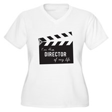 Director of my life Quote Clapperboard Plus Size T