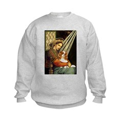 Madonna & Cavalier Kids Sweatshirt