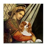 Madonna &amp; Cavalier Tile Coaster