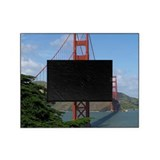Golden state bridge Picture Frames