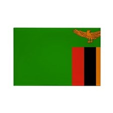 Zambia Rectangle Magnet